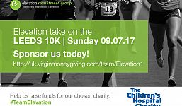 #TeamElevation prepares for Leeds 10k