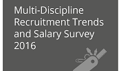 Download our Multi Discipline Recruitment Trends and Salary Survey
