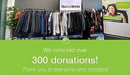 Elevation Holds Clothing Donation Drive on Behalf of The Suit Works Charity