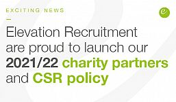 Elevation Recruitment Group launch huge 'Volunteer Program' and new Charity Partners