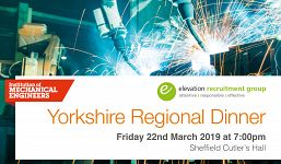 Yorkshire Regional Dinner 2019 - Institution of Mechanical Engineers