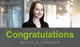 Q&A with Nicola Tuner - Promotion to Senior Administrator