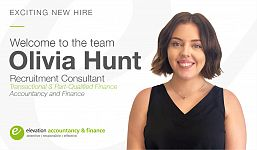 Exciting New Hire as Elevation Continues to Grow our Accountancy and Finance Division