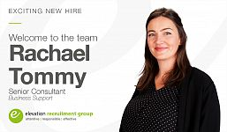 Exciting New Hire as Elevation Continues to Grow our Successful Business Support Division