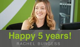 Congratulations Rachel Burgess on 5 years at Elevation Recruitment Group