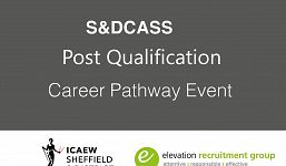 Post Qualification Career Pathway Event Hosted by S&DCASS