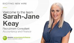 Exciting New Hire as Elevation Continues to Grow our Successful Accountancy and Finance Division