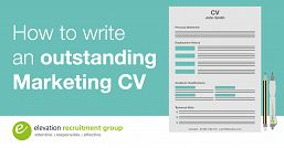 How to write an outstanding marketing CV