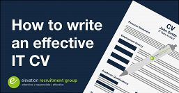 How to write an effective IT CV