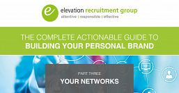 The complete actionable guide to building your personal brand part three: Your networks