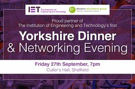 IET Yorkshire Dinner 2019 | Elevation Recruitment Group